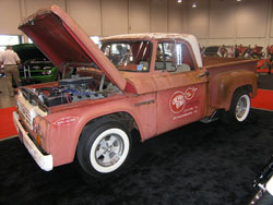 The Cherry Bomb 1964 Dodge D-100 with 528 Hemi