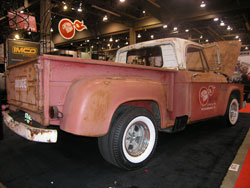 The Cherry Bomb 1964 Dodge D-100 was featured on Stacey David's Gearz Show
