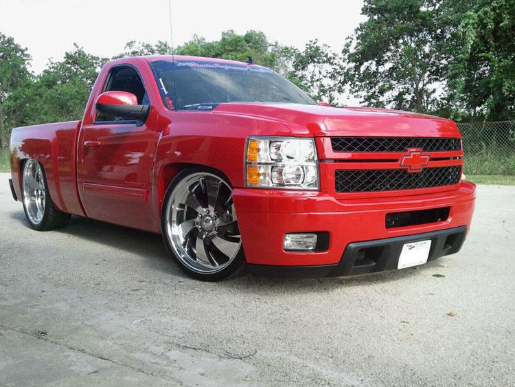 Lowered Chevy Silverado 1500