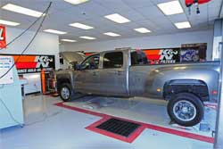 2008 Chevrolet 3500 HD on dyno