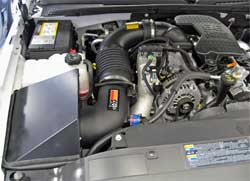 57-3000 K&N air intake system installed in 2006 Chevrolet 2500HD