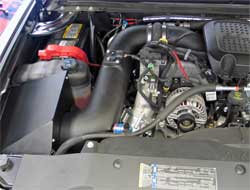 57-3066 K&N air intake system installed in 2007 Chevrolet 2500