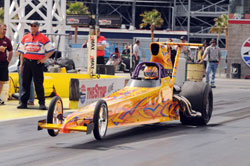 2011 Spitzer Slip Joint Dragster driven by Chip Rumis