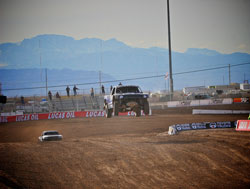 In Saturday's round one race Brandt lead from start to finish