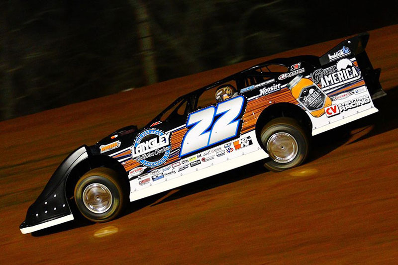 Chris Ferguson Makes a Showing in the National Dirt Racing