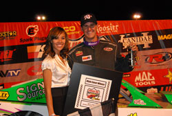 Getting his first series win of the year at Havasu 95 Speedway, in front of hometown fans, was above all sweet redemption