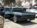 2003 GMC Sierra 1500 Rear with Open Doors