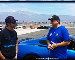 Click on the above image to watch a video testimonial of Chris' first driving impression after having installed a K&N air filter in his Laguna Blue 2014 Chevy Corvette