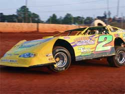 Chris Steele gets podium finish at Cherokee Speedway