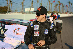 Christian Copley won the West Coast Pro Truck Series championship in 2009