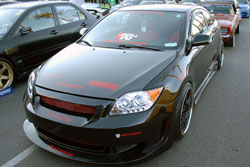 Christian Islas' 2007 Scion tC at the 2011 SEMA Show