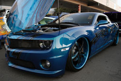 Christian Van Lewen's one of a kind Camaro SS at the 2011 SEMA Show