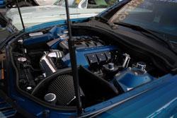 Camaro SS with K&N intake at SEMA