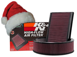 K&N air filters are the gifts that keep giving for a million miles.