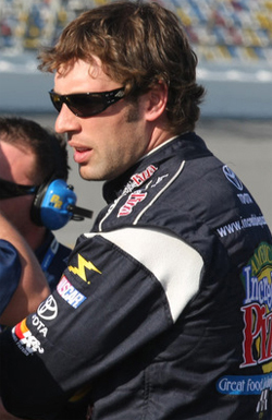 CJM Racing's Scott Lagasse Jr. will compete for the first time at Bristol Motor Speedway in the NASCAR Nationwide Series Scotts Turf Builder 300, photo by Christina Ramzel 2009