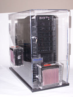 Clean-Aire Computer Enclosure are used by companies such as Arch Coal, Bell Helicopter, CTS Cement, GE Aviation, Conoco-Philips Pipeline Co., Caterpillar, Georgia Gulf Chemical, Central Hudson Gas & Electric, Chevron, Toyota, Layne GeoConstruction, and Aire Liquide Electronics.