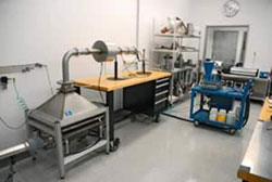 K&N in-house filtration laboratory