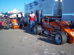 USAC Pavement Sprint Car Racer Cody Gerhardt