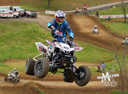Cody Gibson and team Walsh Race Craft began the ATVA Motocross Nationals off woth a bang with four moto wins at Aonia Pass, in Washington, Georgia.