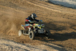 Cody Gifford brought his talents to the national stage in the AMA ATV National Championship ProAm and College classes