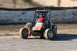 When his sway bar link broke off in Ventura Swanson adjusted his driving style to take the checkered flag.