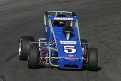 Stockton was Swanson's first pavement race of this season and only his third in the USAC Western States Midget Series