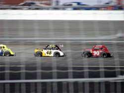 Cody Swanson in No.90 Legend Car