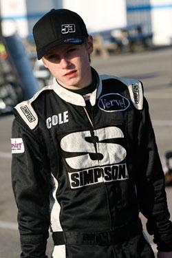 NASCAR K&N Pro Series West Racer Cole Cabrera