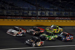 Last weekend at Charlotte Motor Speedway Whitt finished third behind Sprint Cup Series regulars Kyle Busch and Clint Bowyer.
