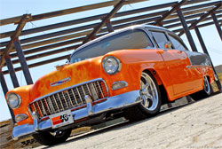 K&N's 1957 Chevrolet Bel Air is on tour