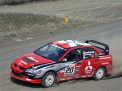 Mitsubishi Lancer Evolution 1X Rally Car in Eastern Washington