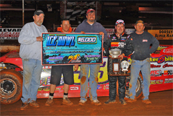 K&N backed racer captured the top purse at the Talladega Short Track in Eastaboga, Alabama, courtesy of Thomas Hendrickson Photos