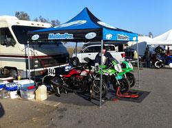 Motorcycle racer Corey Clough at Buttonwillow Raceway