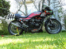 Corey Clough's Kawasaki GPz550 Motorcycle