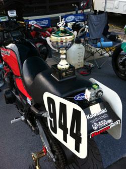 Corey Clough won the AFM Formula Vintage race at Buttonwillow Raceway.