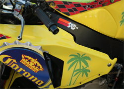Corona Extra Honda Racing's Honda CBR1000RR equipped with K&N air and oil filters