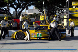 Shortly after the one-hour mark, Gavin handed off the No. 4 K&N backed Corvette to Magnussen.