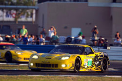 Oliver Gavin, driving the number 4 Corvette C6.R qualified behind his teammate for the 60th running of Sebring.