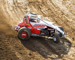 . K&N's Cory Kruseman is once again back in the USAC Western States Midget points lead.