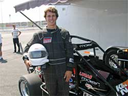 Cory Pollock tests Ford Focus Midget