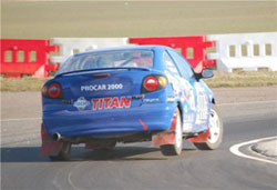 The 2010 Rallycross Championship will be at the Mallory Park circuit in Leicestershire on the March 28th