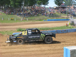 Once Currie and his crew got the new custom built V-8 Pro-lite truck dialed-in to Crandon, there was no looking back.