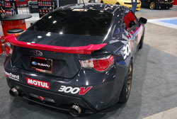 This 2013 Subaru BR-Z was well received during SEMA 2012