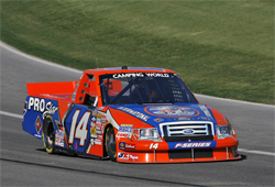 Driver Rick Crawford has logged over 51,000 miles in the NASCAR Camping World Truck Series competition