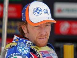 Jason Crump World Speedway Champ 2004. 2006, photo by Mike Patrick
