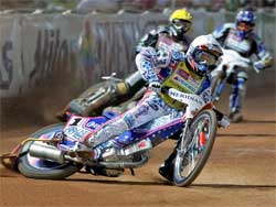 Jason Crump Double World Speedway Champion, photo by Mike Patrick