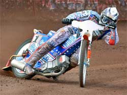 Jason Crump is still in the money chase, photo by Mike Patrick