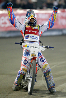 Aussie motorcycle rider takes the crown at Bydgoszcz in Poland