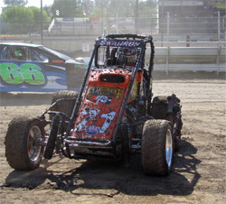 K&N sponsored teen Cody Swanson is third overall in points in the USAC Ford Focus Series, photo by Debbie Swanson