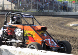 Next USAC Ford Focus Midget Race for the Swanson Motorsports Team will be in Perris, California, photo by Debbie Swanson